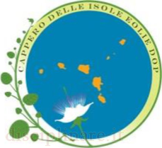 Logo Cappero delle Isole Eolie Dop